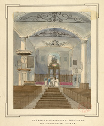 Church of St Nicholas, Deptford, interior f.36